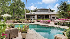 Entertaining on a Grand Scale in the Prestigious Piney Point Village