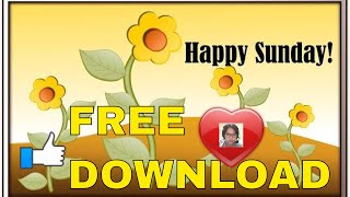 YT FREE DOWNLOAD CC- Happy Sun…