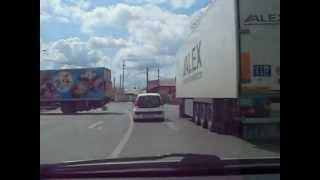 Gefährlicher AutoVerkehr in Rumänien - Fahren in Teleorman, Rumänien