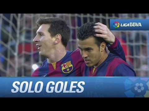 Todos los goles de  FC Barcelona (5-0) Levante UD