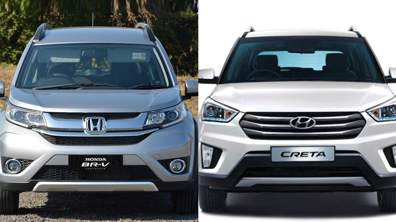Honda br v vs hyundai creta comparison youtube for Honda or hyundai
