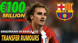Fc barcelona may move for 100 million euros atletico madrid star antoine griezmann if neymar leaves to join paris saint-germain (psg). has release ...