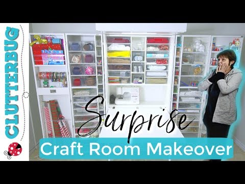 Surprise Craft Room Makeover with DreamBox