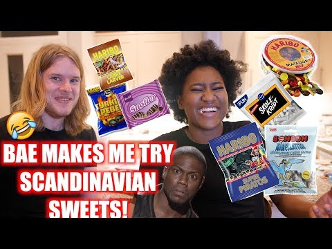 Download Youtube: I TRY A BUNCH OF SCANDINAVIAN SWEETS! TRY NOT TO LAUGH 😅
