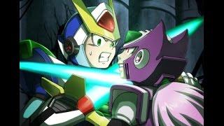 Megaman X6-Ultimate Armor VS Zero Nightmare