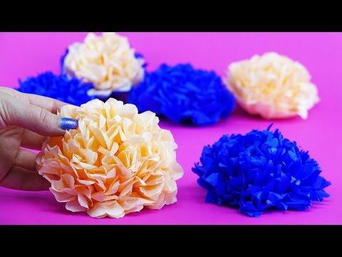 Beautiful Flowers DIY | Summer Mood Tutorial | Tissue Paper Crafts