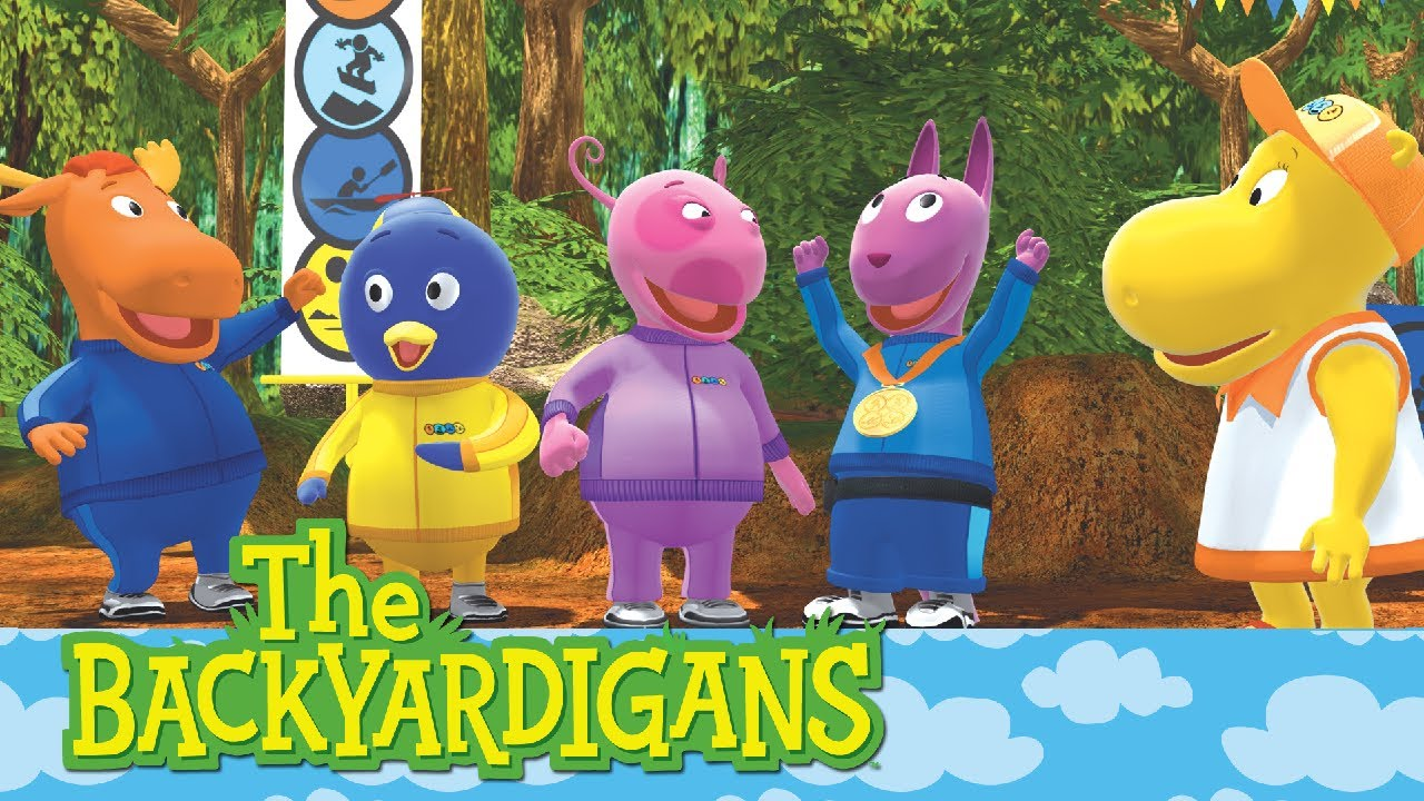 The Backyardigans: Race Around The World   Ep.17   YouTube