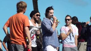 Backstreet  Boys Cruise 2011 - Cable Beach Party - Welcome to the BSBCruise