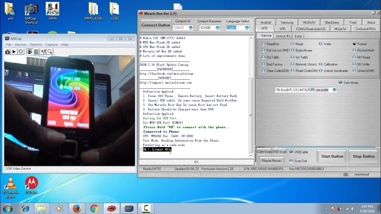 micromax x264 flashing by miracle box | restore and upgrade | in Hindi