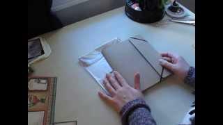 Tim Holtz Folio Perpetual Calendar Stand Idea 1/2