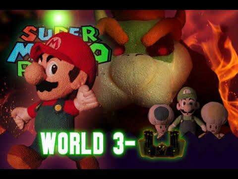 Super Mario Plush World 3-Castle