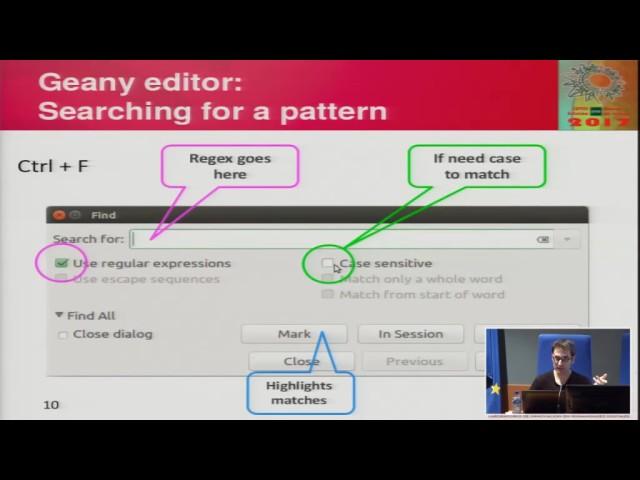 Manipulación de cadenas de texto escrita: Expresiones regulares