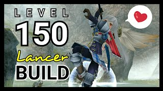 Halberd Build Spam Skill Playstyle (Fast Motion & High Crit