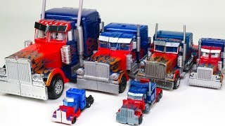 Transformers Movie Various sizes Class Optimus Prime Truck 6 Vehicle Transformation Robot Car Toys