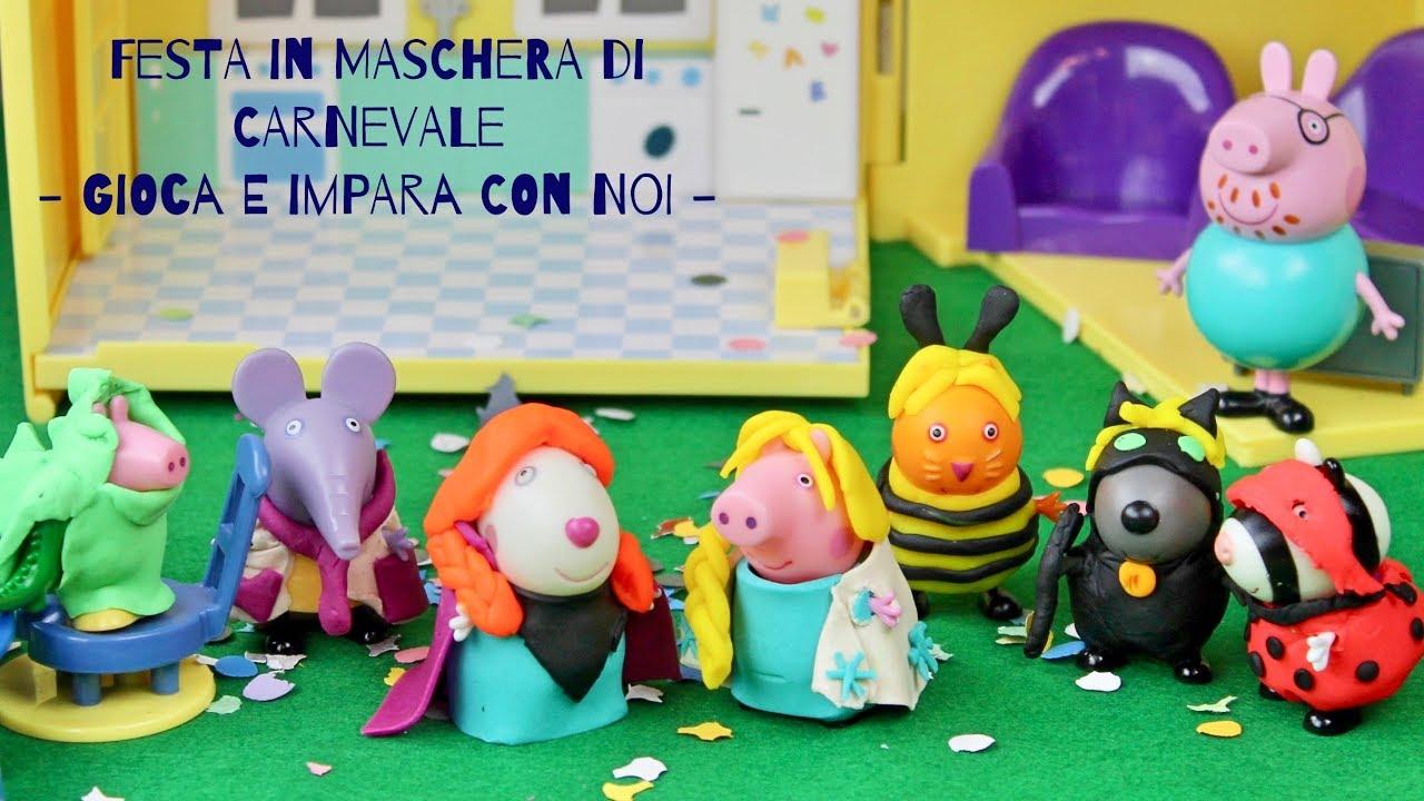 Festa in maschera di carnevale nella casa di peppa pig for Peppa in italiano