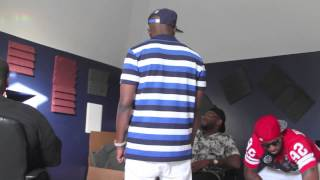 "Boosie Bad Azz & Eside Shawty Recording ""Street Love"" & ""Im Wit Ya""  With Gutta Tv"