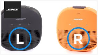 Bose SoundLink Micro – Party and Stereo Modes