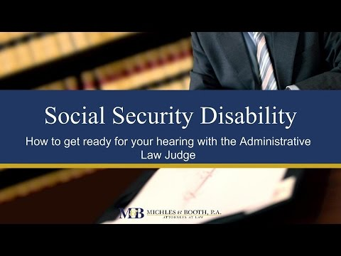 Preparing For Your Social Security Disability Hearing: What To Expect