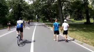 Full Bike Ride through New York