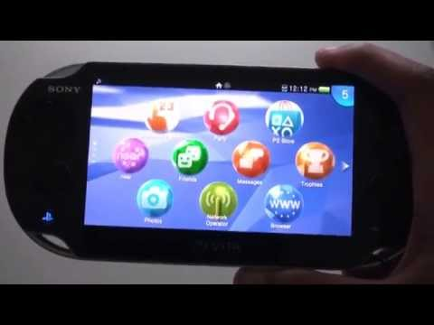 PS VITA THEMES Update - How to   New Icons, Backgrounds + Music
