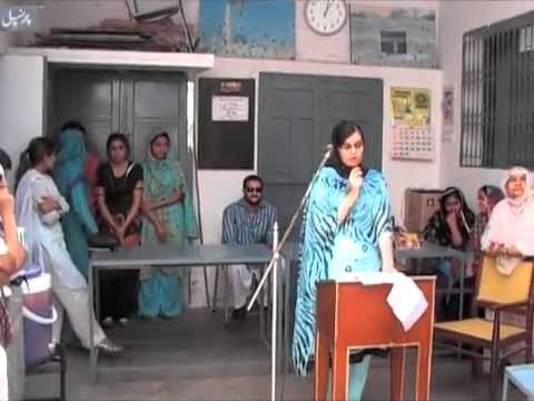 The Most Inspirational Speech By PAKISTANI GIRL(PARENTS RESPONSIBILITIES) ENG VERSION