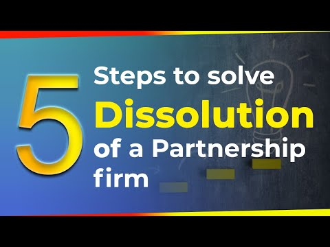 Dissolution of a Partnership Firm | Partnership | Problem Solving | Accounting |LetsTute Accountancy