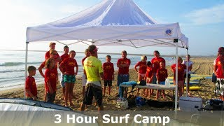 3 HOUR SURF CAMPS ON SOUTH PADRE ISLAND TEXAS!