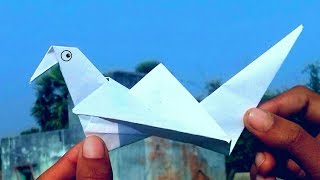 How to make a paper origami bird   By LIFE HACKS HINDI
