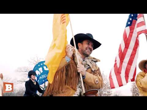 Cowboys for Trump Ride Into Washington D.C.