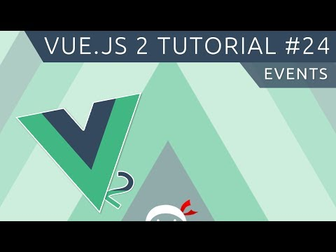 Vue JS 2 Tutorial #24 - Events (child to parent) - YouTube