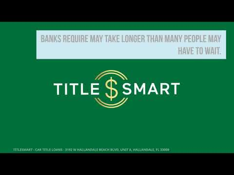 Title Loans For Your Auto At Titlesmart Get Your Title Loan Today