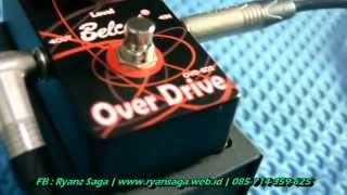 Jual Efek Gitar - Soundtest Belcat Stompbox OVD-502 Overdrive