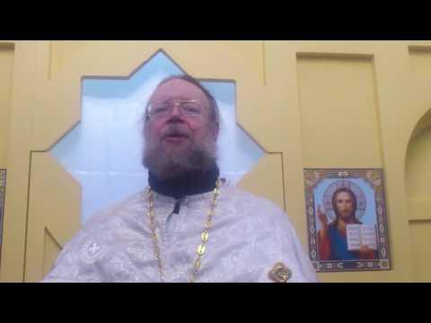 Проповедь в Крещенский сочельник