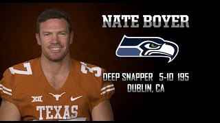 Highlights of Texas Football DS Nate Boyer [May 2, 2015]