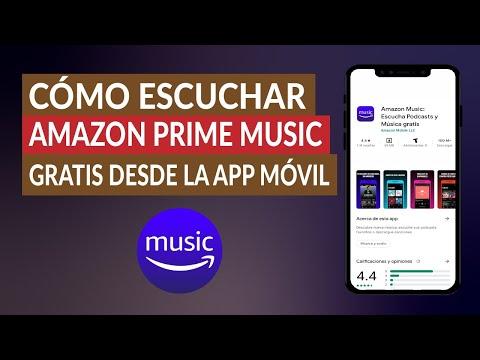 Cómo Escuchar Amazon Prime Music Gratis Desde la App Móvil o el PC