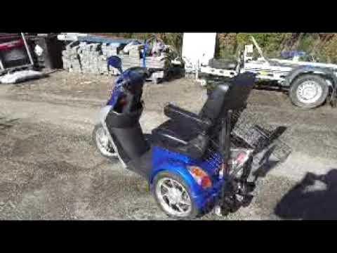 Verrassend 20180915 Oblix scootmobiel - YouTube TT-18