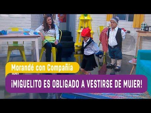 ¡Miguelito es obligado a vestirse de mujer! - Morandé con Compañía 2017