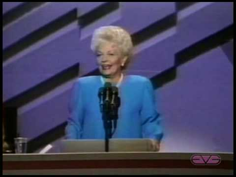 Governor Ann Richards Keynote Address to the 1988 Democratic National Convention