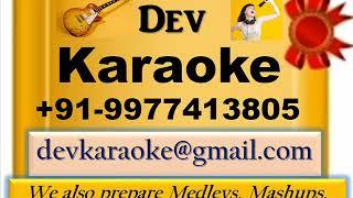 Yuhin Kat Jayega Safar Saath Customized By Hum Hain Rahi Pyar Ke HQ Karaoke by Dev