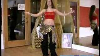 Beginner Belly Dancing Lessons : Hip Snap Move in Belly Dancing