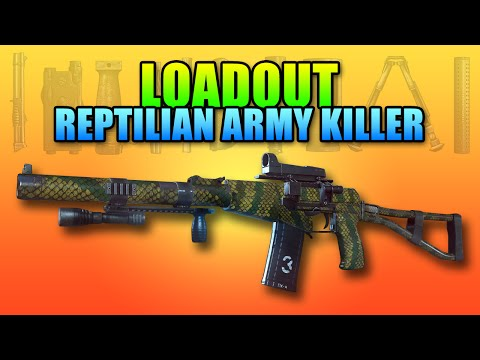 Loadout - Reptilian Army Killer AS-Val | Battlefield 4 PDW Gameplay