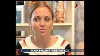 """М. Девятова в передаче  """"В центре событий""""."""