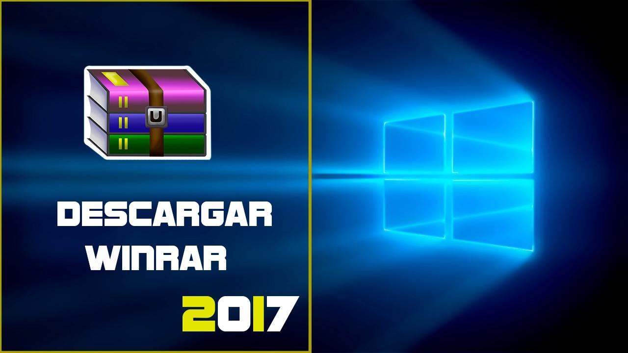 descarga gratis winrar para windows 10