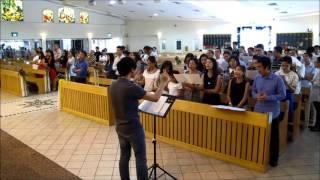 HƯỚNG TÂM HỒN LÊN - LM Dao Kim - CĐ ĐMLV (Singapo
