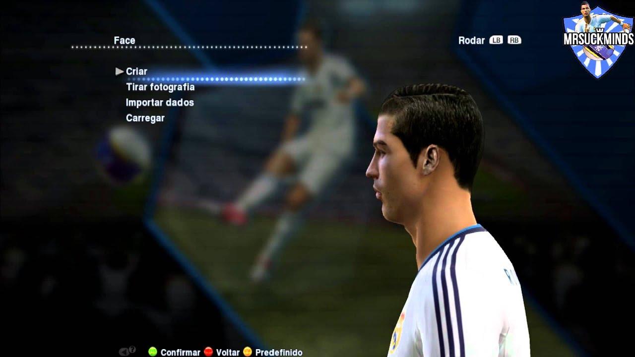 New Face HD And Hair Ronaldo Pes HD YouTube - Download hair cristiano ronaldo pes 2013
