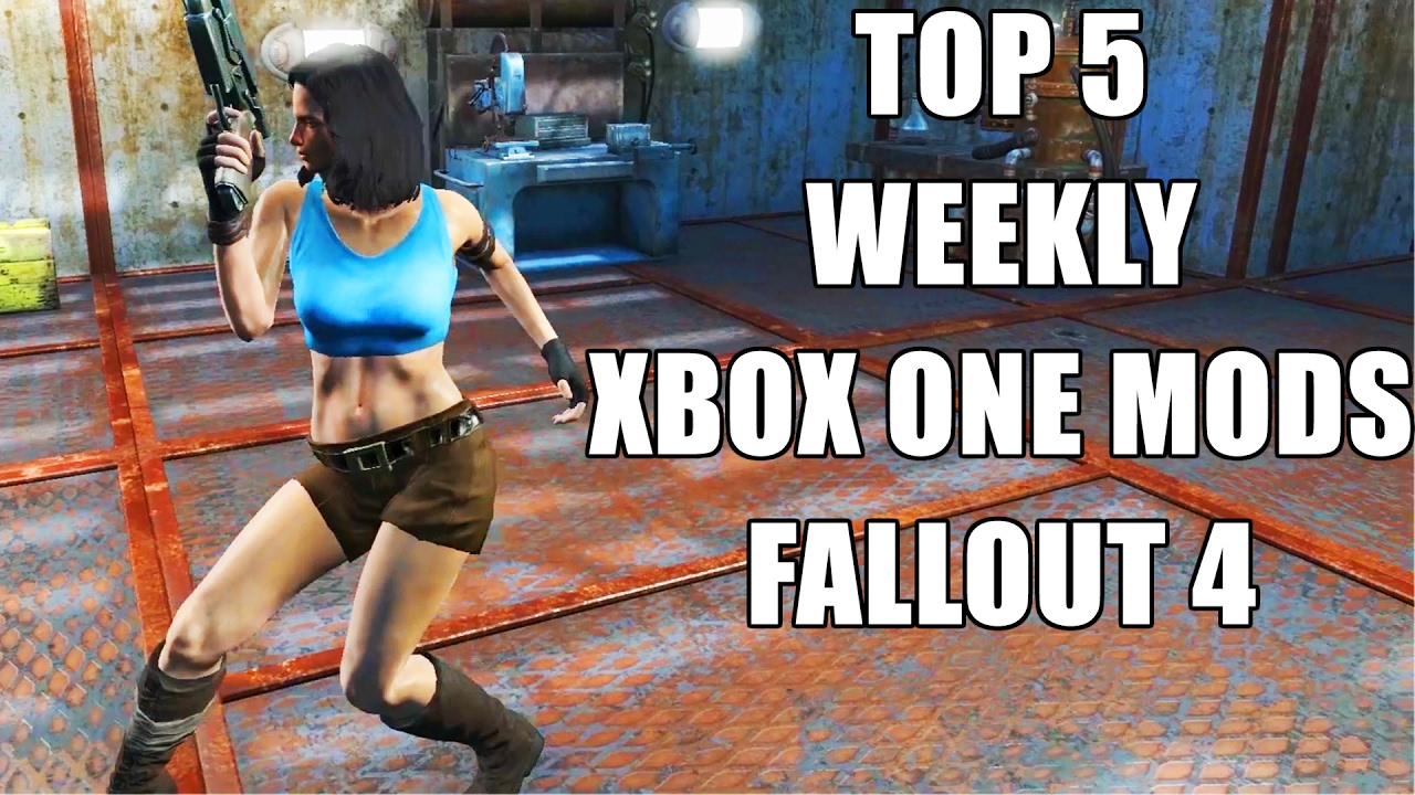 Top 5 Weekly Mods For Fallout 4 on the Xbox One Console