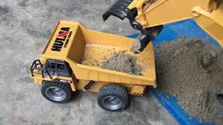 Máy Xúc Cứu Hộ Ô Tô Tải Bị Lật , Đồ Chơi Trẻ Em (excavator) |nhạc Thiếu Nhi