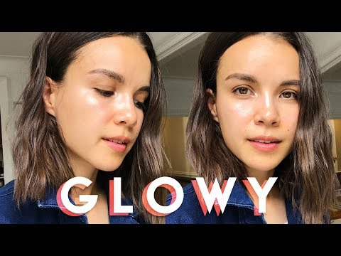 Glowy Minimal Makeup Tutorial | Ingrid Nilsen thumbnail