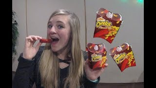 Flamin' Hot Mac n' Cheetos Taste Test