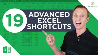 19 Advanced Excel Shortcuts (do you know them all?)